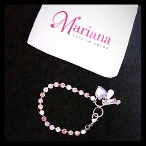 Mariana Swarovski Crystal Tennis Bracelet 🌟